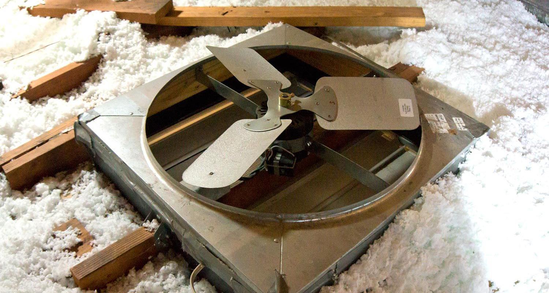 Attic Fan Installation | Evergreen Attic Insulation | (888) 396-7071